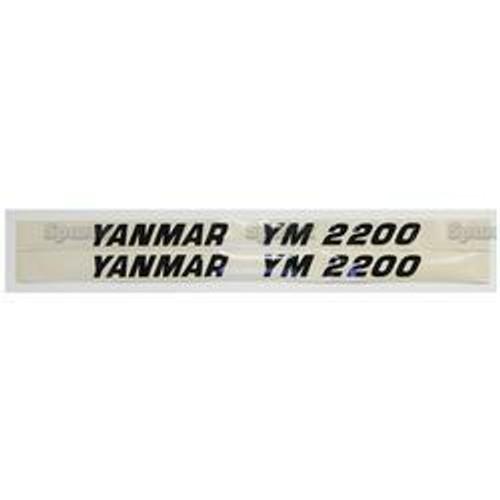 New Yanmar 2200 Decal Set