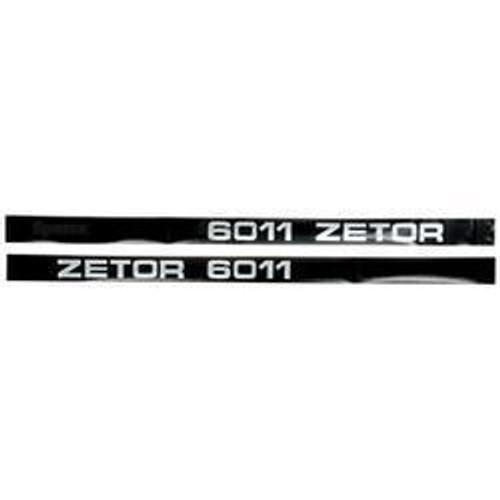 New Zetor 6011 Decal Set