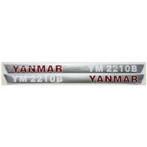 New Yanmar 2210B Decal Set