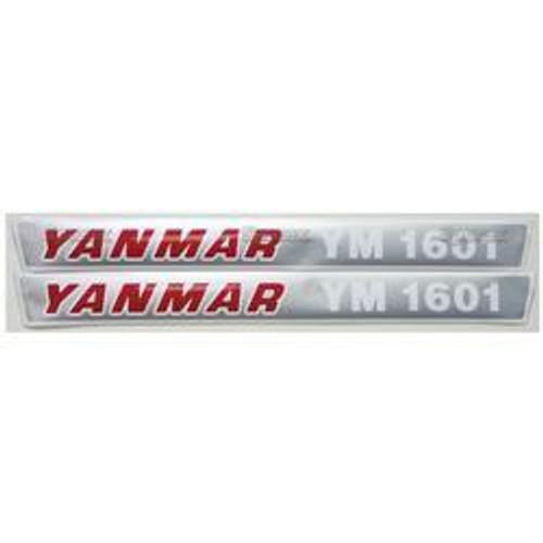 New Yanmar 1601 Decal Set