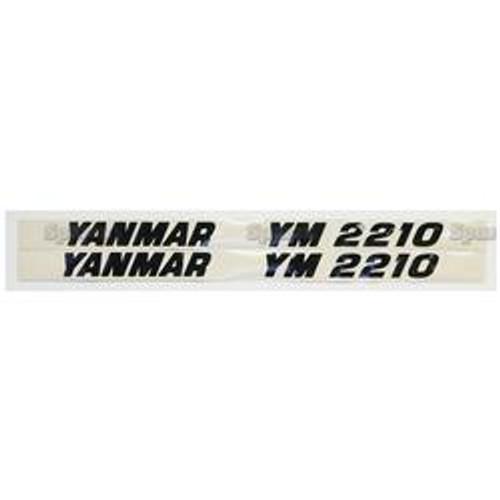 New Yanmar 2210 Decal Set
