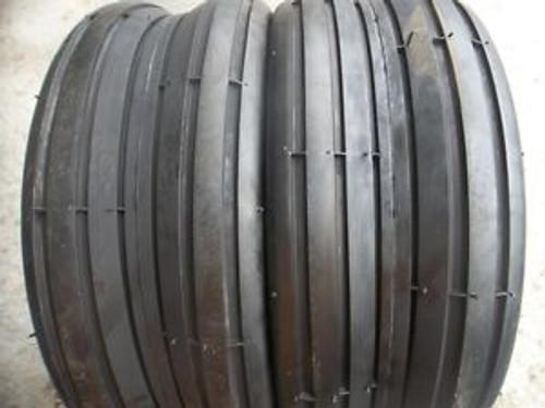 New Set of 2 Cordovan Straight Rib Tires 15/6.00X6 4 Ply
