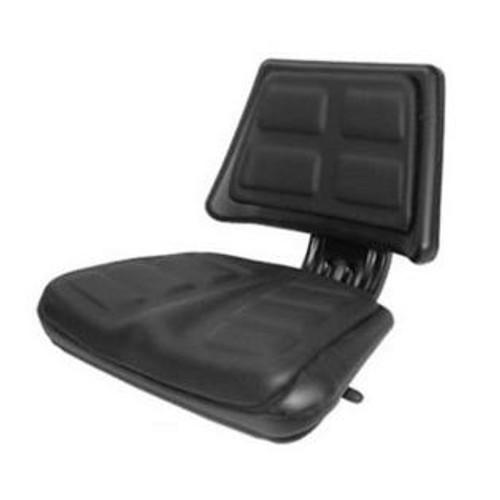 Universal Black Trapezoid Back Seat T110BL