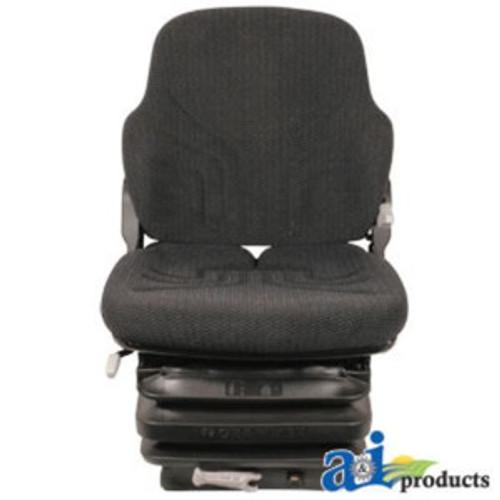 Grammer Universal Black/Gray Matrix Cloth Tractor Seat W/Suspension MSG85721F