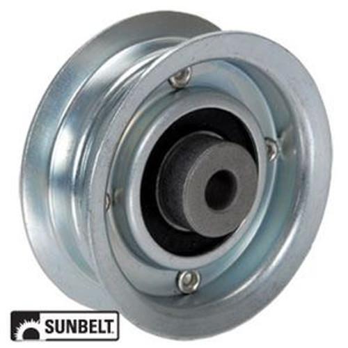 "Universal Mower 2 1/2"" Steel Flat Belt Idler"