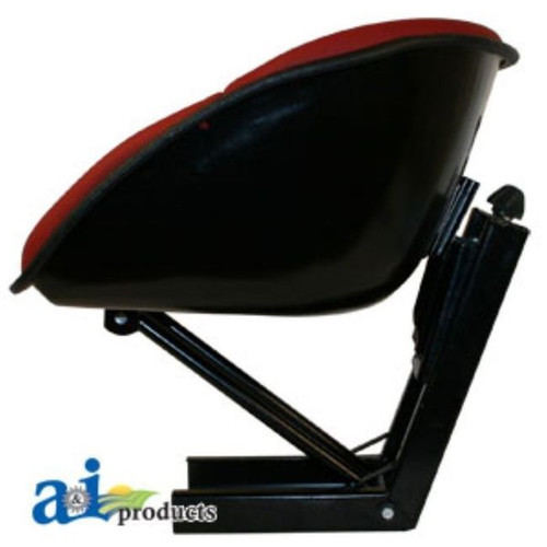 Universal Tractor Bucket Seat Red BS100RD
