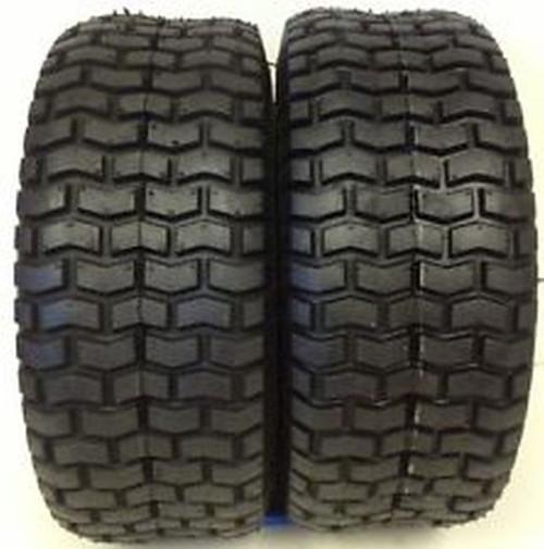 2 Deestone Turf Tires 15/6.00X6 15-600x6 15-6.00x6 4 Ply