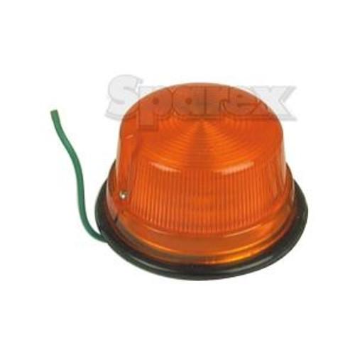 Amber 12 Volt Warning Light fits many models 34150-34204