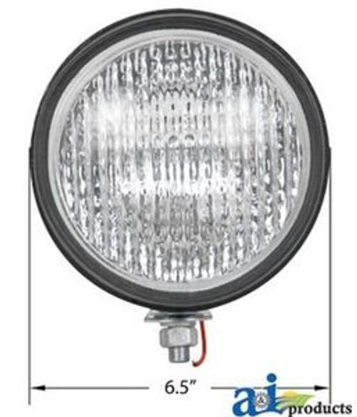 """Universal Rubber Body Worklamp 12V 5 7/8"""" Diameter"""