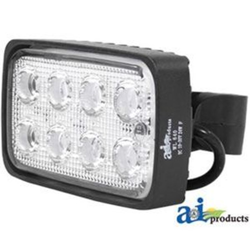 Universal LED Work Lamp Rectangle Trapezoid Side Mount 6 X 3.50  WL650