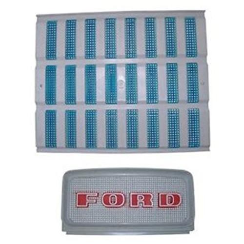 Ford Tractor Upper & Lower Grill Set 2000 3000 4000 5000 D1NN8151A & C9NN8A163AG