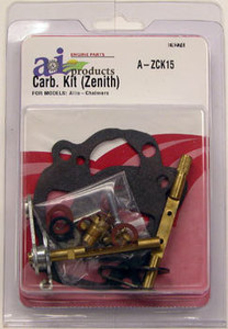 Allis Chalmers Carburetor Kit for Zenith model B & RC