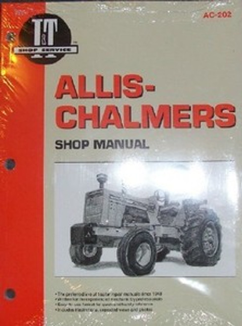 Allis Chalmers IT Service Manual 8010 8030 8050 8070