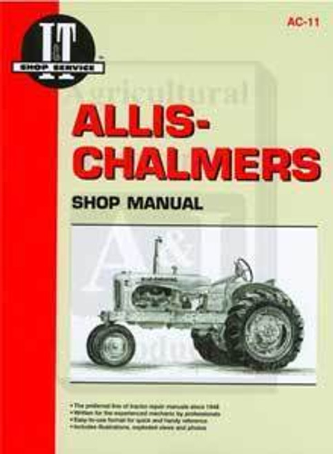 Allis Chalmers IT Service Manual B C CA G RC WC WD WD45