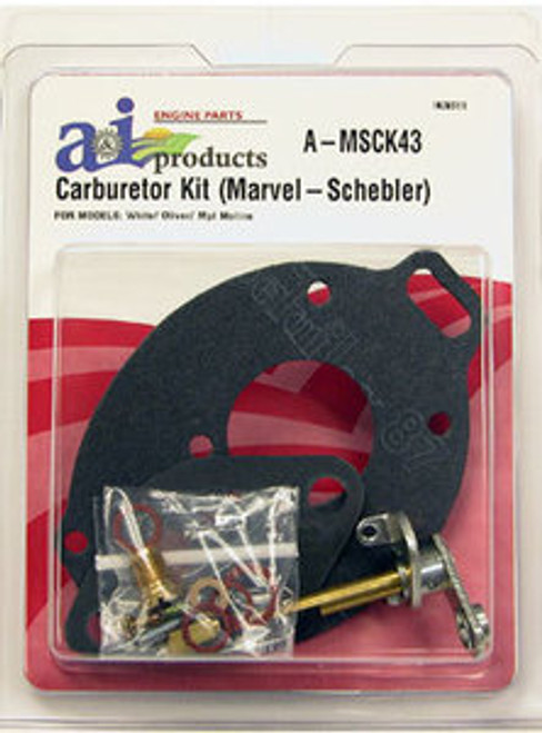 Basic Carb Kit fits White/Oliver 550 and 660