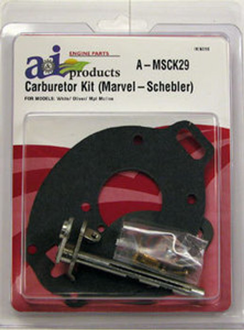 Basic Carb Kit fits White/Oliver G-6, GB, M5, M670