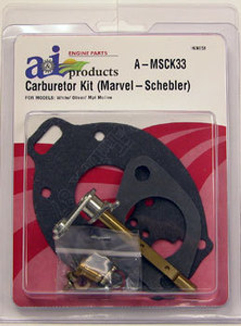 Basic Carb Kit fits White/Oliver 1650 1655 1800