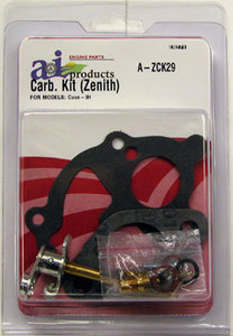 Basic Carb Kit for IH A & C w/Zenith