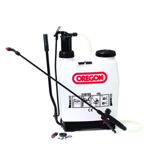 Oregon 16L 4 Gallon Sprayer with Shoulder Strap and Spare Seal Kit 518769