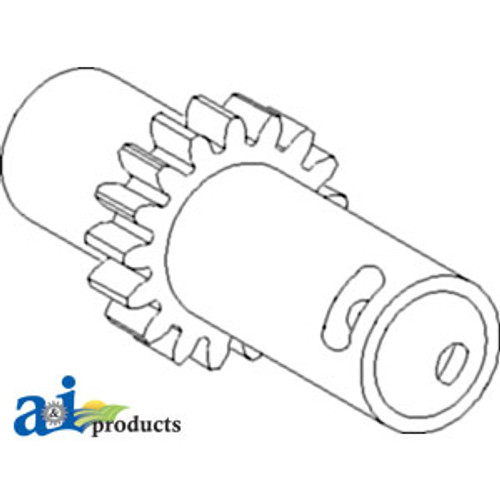 JD Combine  Gear Input; 17 Tooth     Replaces Part Number H107779