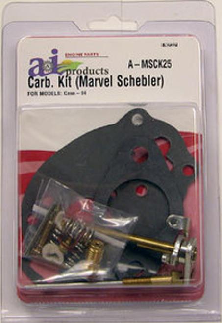 Case Complete Carburetor Kit fits models VA VAC