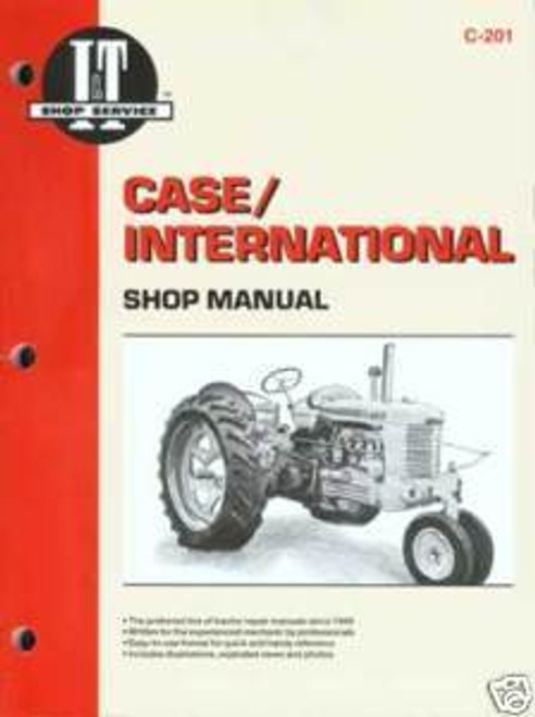 Case/International IT shop manual C D L LA R S V VA 200