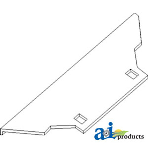 JD Combine  Wear Plate               Replaces Part Number H153157