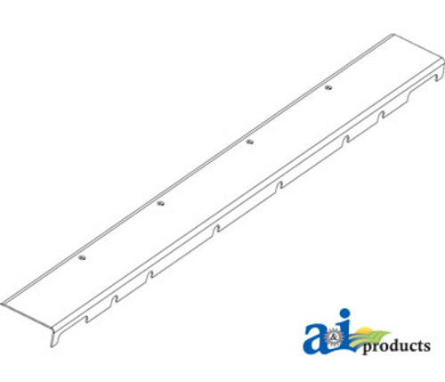 """JD Combine  Wear Plate; 6"""" Extension Replaces Part Number H144051-EXT"""