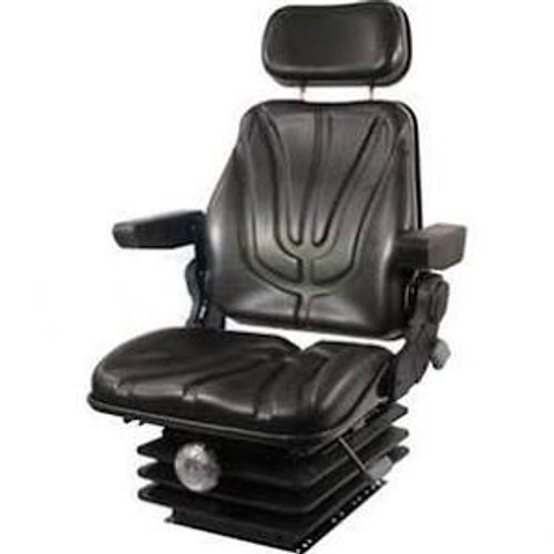 Seat, F10 Series, Mechanical Suspension / Armrest / Headrest / Black Vinyl