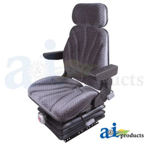 Seat, F10 Series, Mechanical Suspension / Armrest / Headrest / Gray Cloth