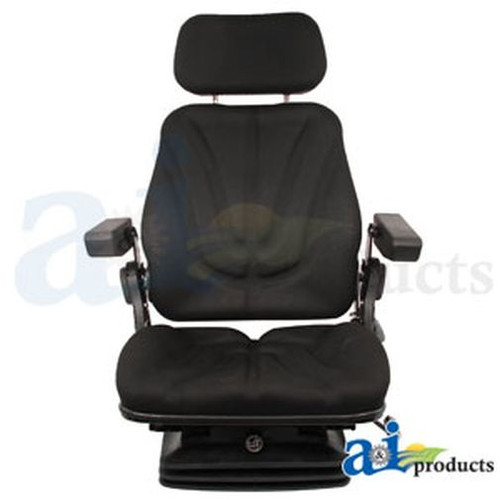 Seat, F10 Series, Air Suspension / Armrest / Headrest / Black Cloth