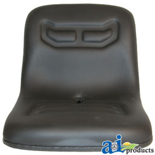 "Compact Tractor 16"" Flip Style Seat fits Ford A/C and Case"