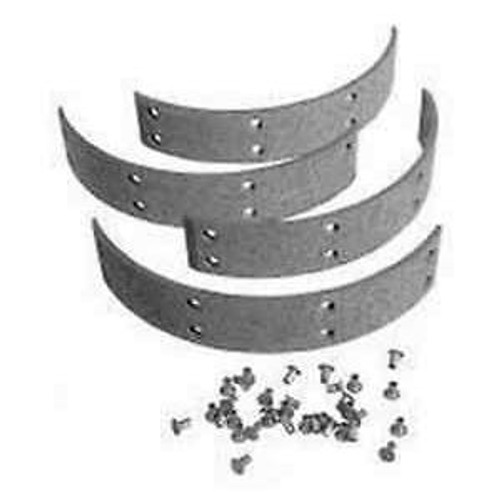 JD Brake Shoe Lining Kit Set of 4 with Rivets RE235937