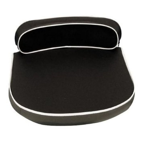 Massey Ferguson Black Seat Cushion Set 181324m1, 181326m1, 513353m91