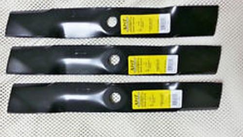 "John Deere Mower Blade Set of 3 for 48"" Cut M145476"