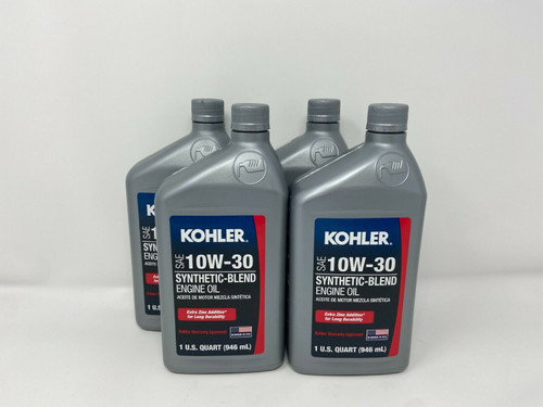 4 Quart Special OEM Kohler SAE 10W30 Engine Oil
