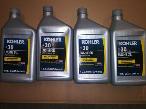 4 Quart Special OEM Kohler SAE 30 Engine Oil