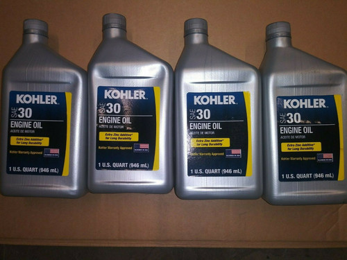 4 Quart Special OEM Kohler SAE 30 Engine Oil