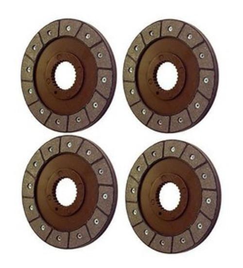 (4) Massey Ferguson Brake Discs fits 135, 165, etc 1044526M1 3609079M1