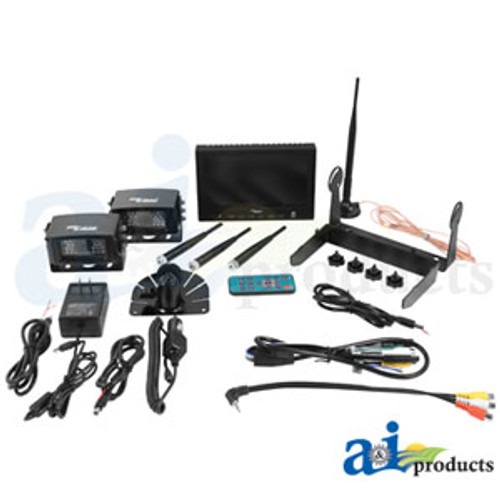 "CabCAM Wireless Video System (Includes 7"" Monitor and 2 Cameras) WL56M2C"