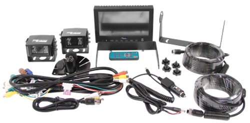 "CabCAM Video System (Includes 7"" Monitor and 2 Camera) CC7M2CQR"