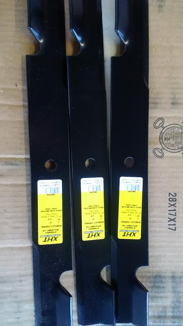 "Bobcat or Ferris Mower Blade Set 1520842, 42180B, WM142180B 61"" Cut"