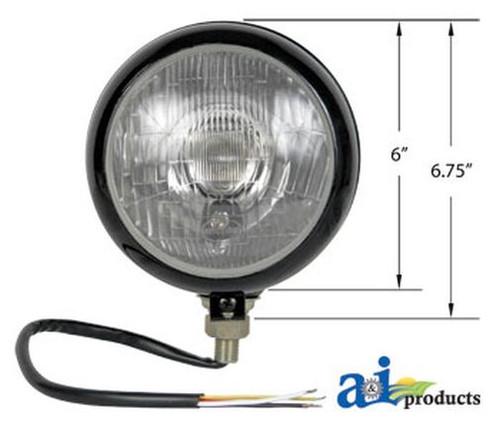 New Universal 12 Volt Head Light Assembly HL400B