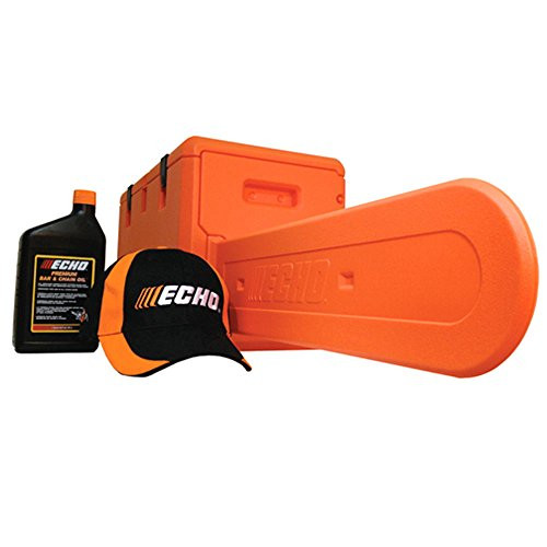 ECHO OEM Chainsaw Value Pack Includes Case, Hat, and Oil Fits Models up to 20""