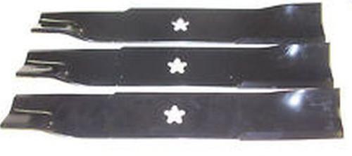 """Husqvarna Kees Yazoo 48""""Mower Blade set of 3 539113425 539-113425"""