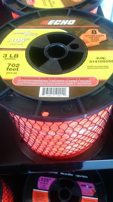 """ECHO 314105055 .105"""" Cross Fire Trimmer Line 3 LB Spool"""