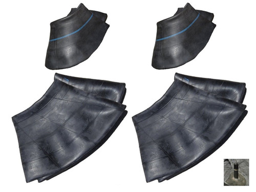 Set of 4 Lawn Mower Tire Inner Tubes TWO 15X6.00-6  & TWO 20X8.00-8