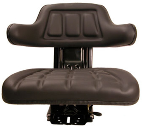 Black Universal Tractor Seat Fits Massey Ferguson, Ford and Case-IH