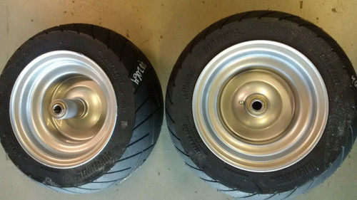 "2 Dixie Chopper Solid ""NO FLAT"" Front Wheels With 15x6.00-8 402064"