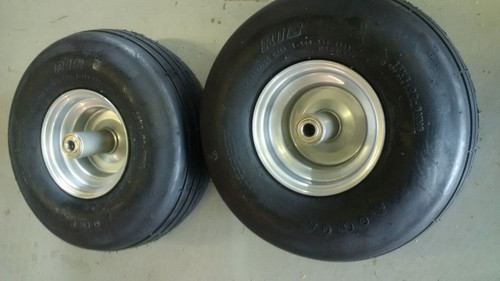 2 Dixie Chopper OEM Front Wheel With Tire 15/6.00X6 400053 400955